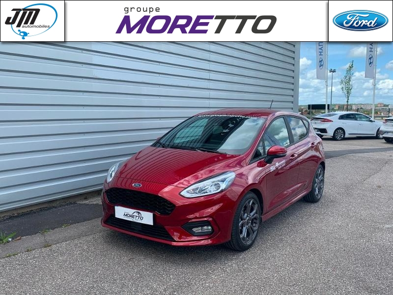 FORD Fiesta 1.0 EcoBoost 125ch mHEV ST-Line X 5p